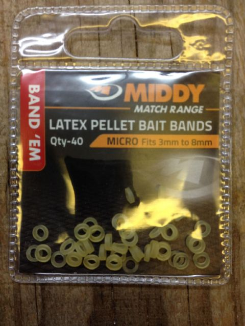 Middy Latex Pellet Bait Bands
